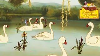 les six cygnes simsala grimm hd   dessin anim des contes de grimm