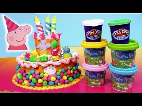 Peppa Pig Muddy Puddles Birthday Cake