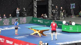2018 ITTF Team World Cup - Liam Pitchford v Koki Niwa