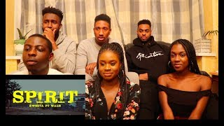 Kwesta Ft. Wale - Spirit ( REACTION VIDEO ) || @KwestaDaKAR ‏@Wale