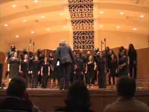 Jesus is a Rock - San Jose State University Gospel Choir