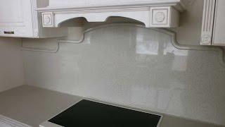 Столешница из искусственного камня с фигурной стеновой панелью (фартуком)(, 2015-10-24T22:06:32.000Z)