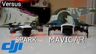 DJI Mavic Air Vs DJI Spark - There