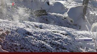 Постоянные очаги подземного пожара в Кобяйском районе Якутии беспокоят жителей