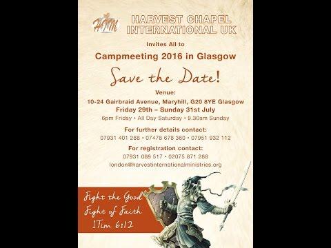 HCI Camp 2016 Glasgow, UK [Friday Evening Session]