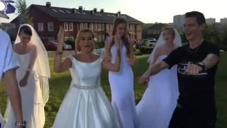 Бородина снова одела свадебное платье
