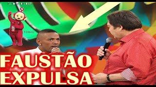 Faustão quer Nego do Borel fora da Globo depois de invasão em programa Melhores do Ano