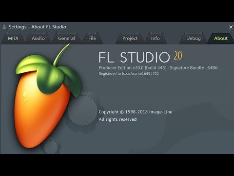 FL Studio 20: Unlocking Full Version With Regkey