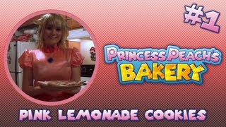 Princess Peach's Bakery (episode 1: Pink Lemonade Cookies)