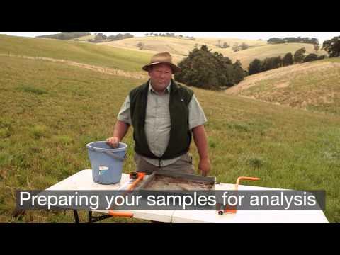 Practical steps for landowners - soil sampling