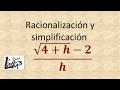 Racionalización l La Prof Lina M3