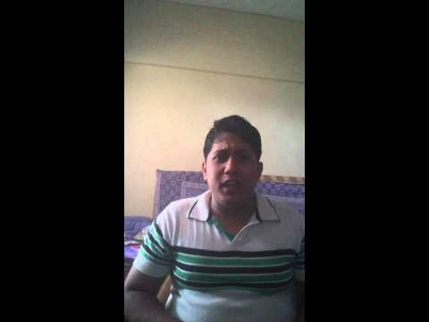 Raw star audition video - Vishaal Mishra