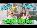 Download EAT IT OR WEAR IT CHALLENGE!!! Fun with Food!
