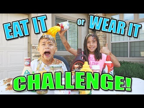 EAT IT OR WEAR IT CHALLENGE Fun with Food