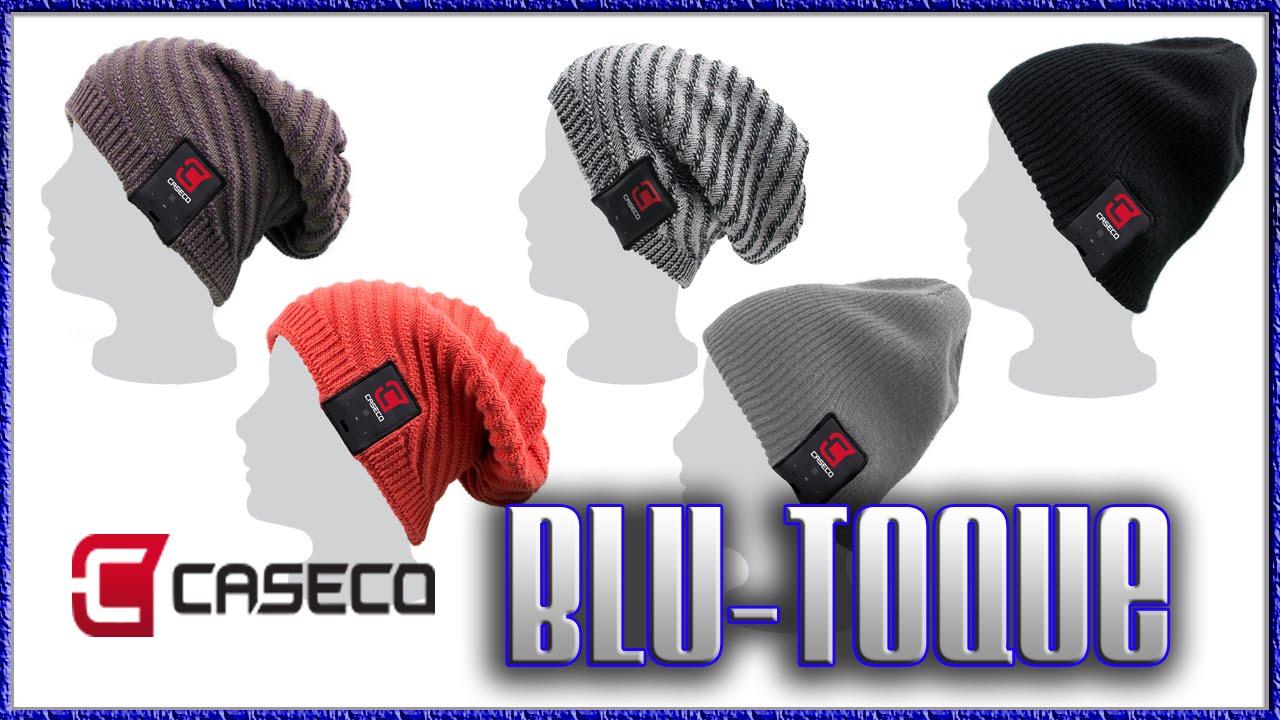 250beb38f7b Caseco Blu-Toque Amazing Bluetooth Toque - YouTube