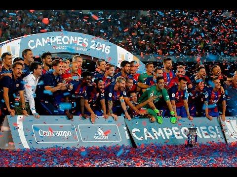 FC Barcelona 3-0 Sevilla | Goles: Arda Turan (9', 46'), Messi (55') | RESUMEN