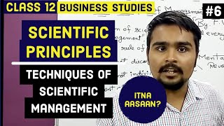 ? Scientific principles | techniques of management |  Class 12 | business studies | video 6
