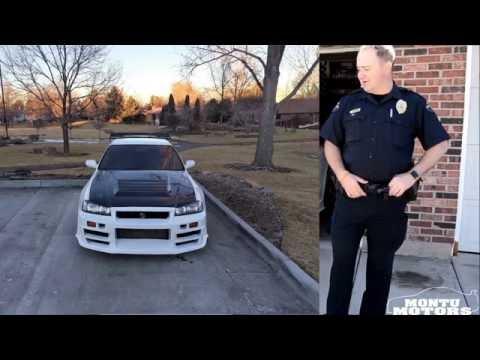 Officer Matt Talks About his Nissan Skyline GTR in Denver