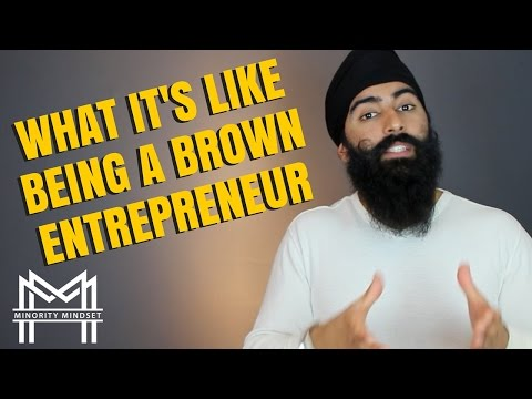 The Life Of A Brown Entrepreneur | Minority Mindset - Jaspreet Singh