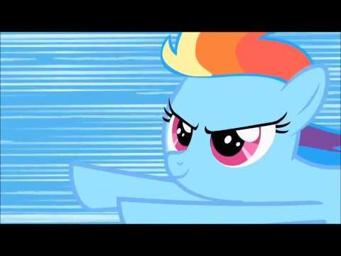Rainbow Dash's First Sonic Rainboom