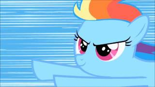 Rainbow Dash's First Sonic Rainboom