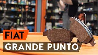 Wie Bremssteine FIAT GRANDE PUNTO (199) wechseln - Online-Video kostenlos