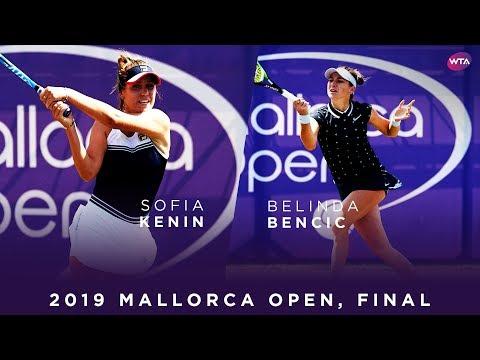 Sofia Kenin Vs. Belinda Bencic | 2019 Mallorca Open Final | WTA Highlights
