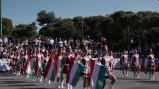 DREAM DANCE MAZSORETT AND MELLOFON FUVOS EGYUTTES - XV° Festival Internazionale Bande Musicali