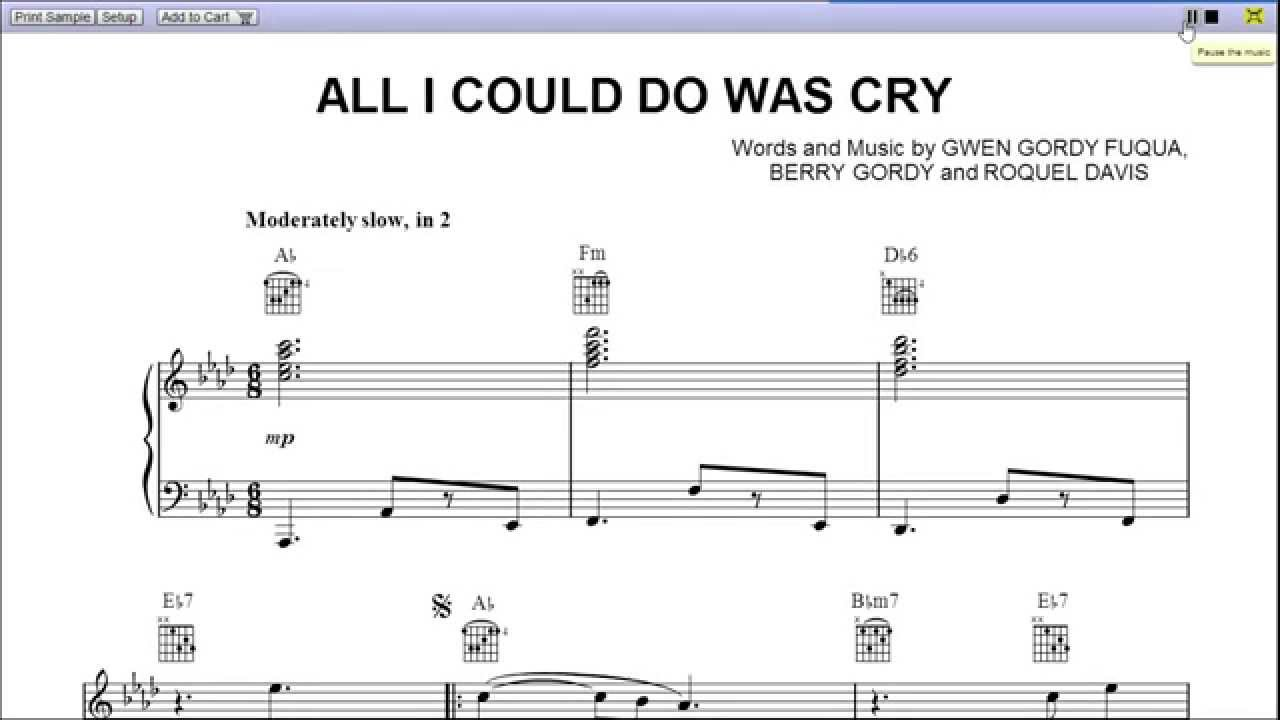 All i could do was cry by etta james piano sheet musicteaser all i could do was cry by etta james piano sheet musicteaser hexwebz Choice Image