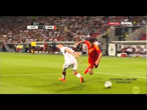 Германия-Армения. Товарищеский матч 2014.Голы и моменты.