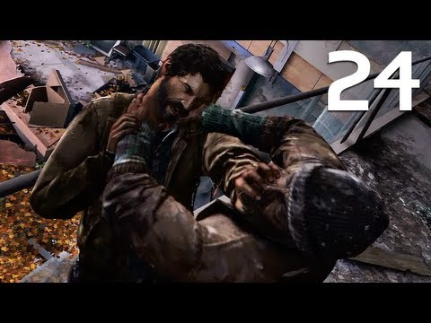 The Last Of Us Walkthrough Part 24 - Science Building (Survivor Difficulty)