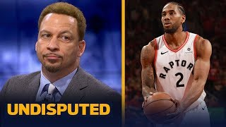Chris Broussard praises Kawhi and Raptors' bench in Game 4 win against the Bucks   NBA   UNDISPUTED