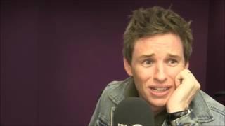 Eddie Redmayne Grimmy BBC Radio 1 2016