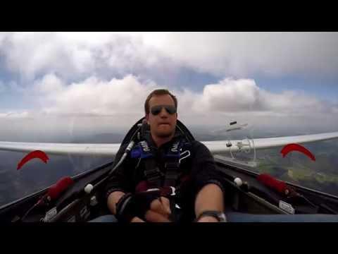 Glider Aerobatics - Having too much fun