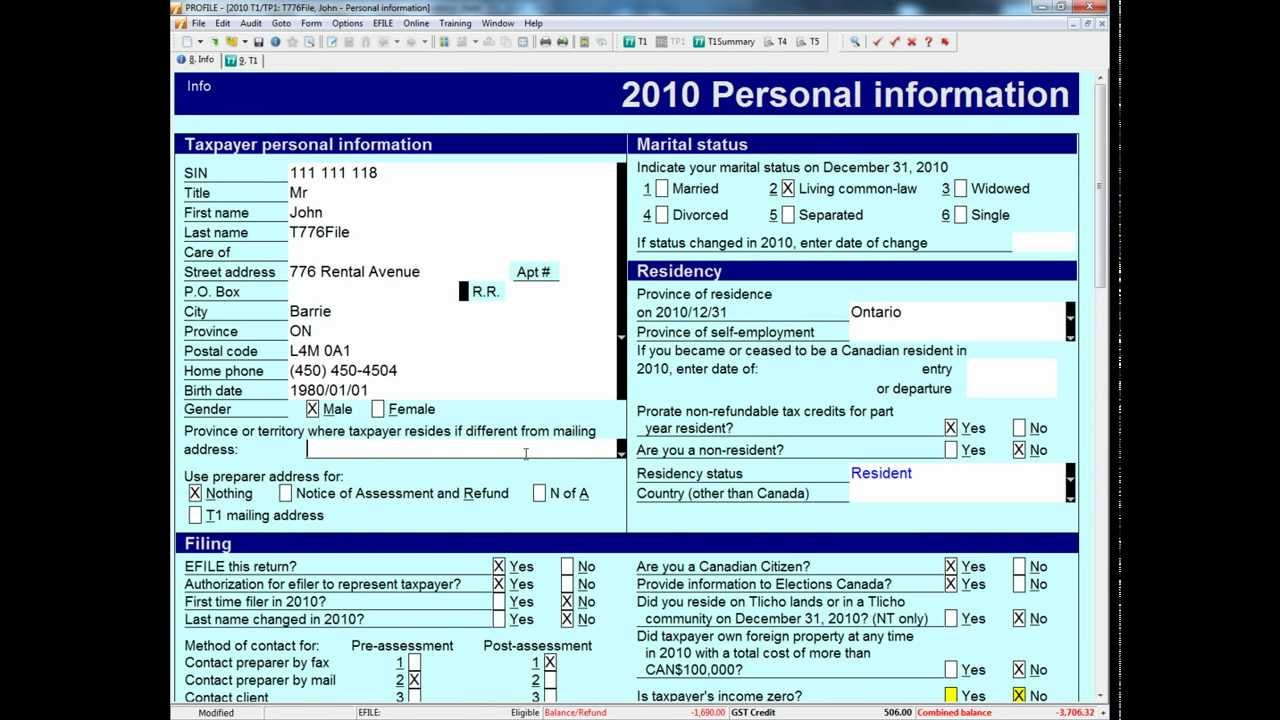 how to complete the t776 tax form
