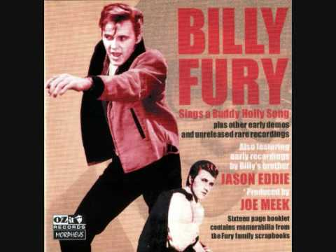 Billy Fury -  A King For Tonight