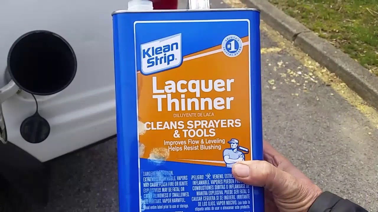PO420 Myth Busted?? PART -1 Lacquer Thinner in your Gas tank? Will It work??