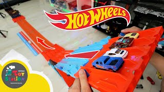 The most spectacular 4-lane Hot Wheels race in ToyStation 566