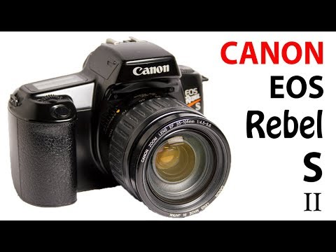 How to Use Canon EOS Rebel S II, EOS 1000 S, EOS 1000 F Film Camera (Beginners Quick Guide)