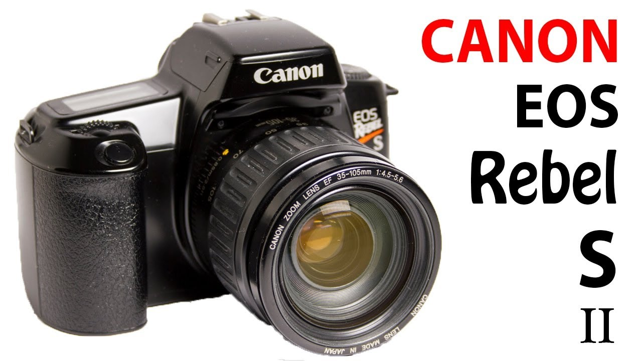 How To Use Canon Eos Rebel S Ii Eos 1000 S Eos 1000 F Film Camera Beginners Quick Guide Youtube