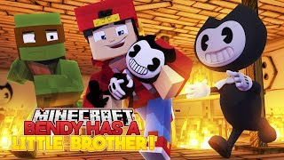 Minecraft Adventure - BENDY HAS A BABY BROTHER!!!