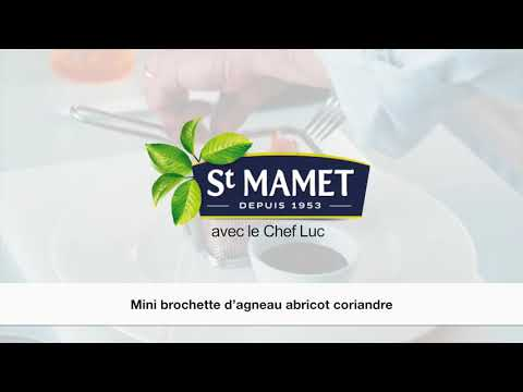 Brochette d agneau abricots romarin