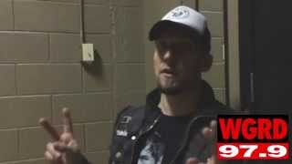 Michael Poulsen of Volbeat Interview with WGRD in Grand Rapids 2014