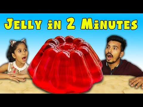 Kids Making Jelly At Home | Very Easy Jelly Making Recipe