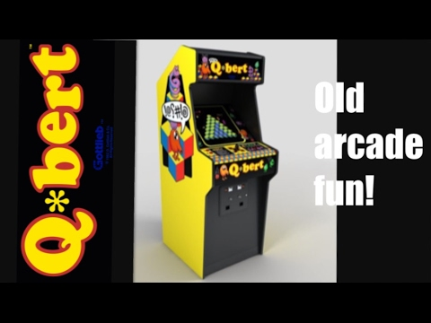 REALLY GOOD RIPOFF FOR 20$!! | Qbert arcade machine review - YouTube