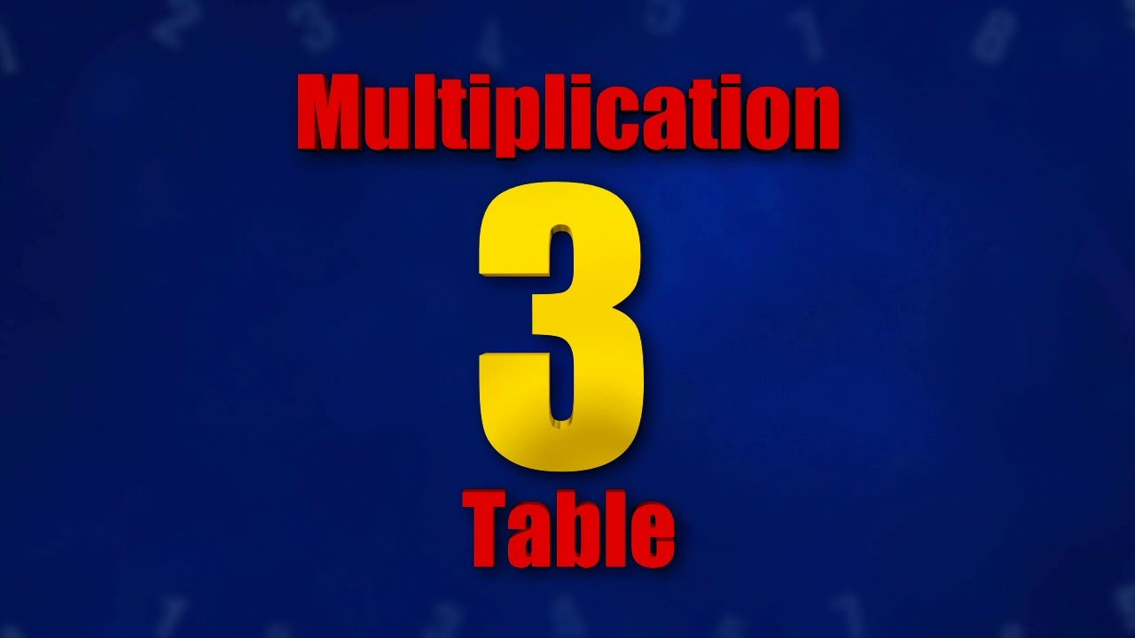 Table 03 multiplication tables 3d animation videos for kids table 03 multiplication tables 3d animation videos for kids gamestrikefo Gallery