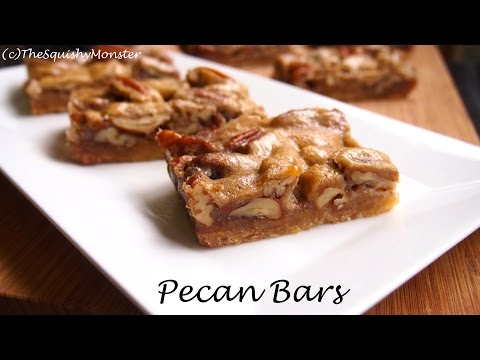 The BEST Pecan Pie Bars - Pecan Pie Recipe