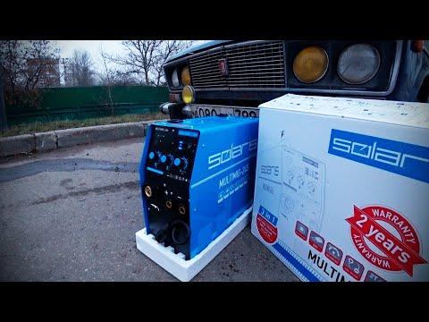 Купил Сварочный Полуавтомат / Solaris MULTIMIG - 245 ВАЗ 2106