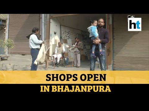 Watch: Shops Open In Parts Of Violence-hit North East Delhi