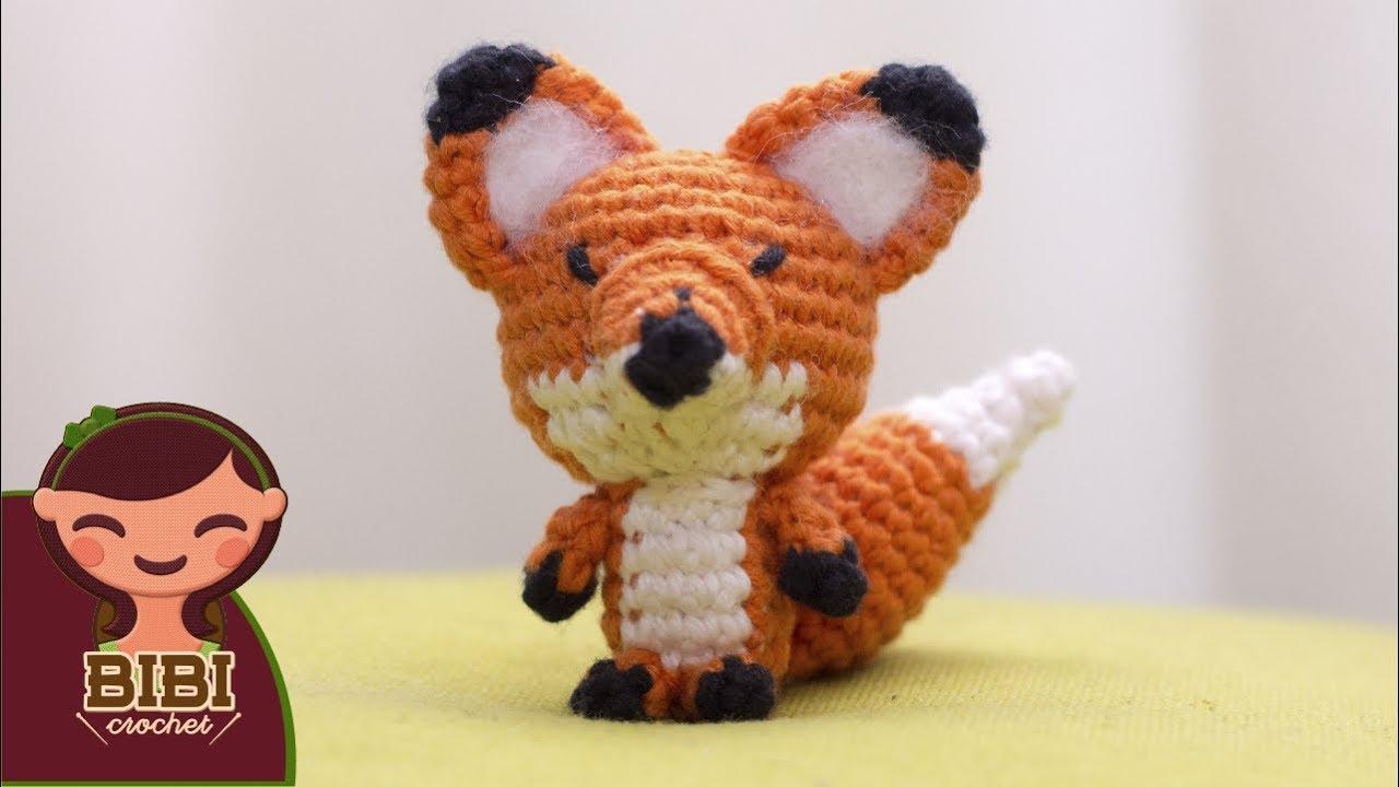 Amigurumi | como hacer un zorro en crochet |Bibi Crochet - YouTube